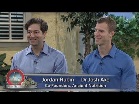 "Herman and Sharron - Dr Josh Axe and Jordan Rubin  ""Multi Collagen Protein"""
