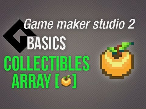 🔴Game Maker Studio 2 | Basics – Collectibles/Array