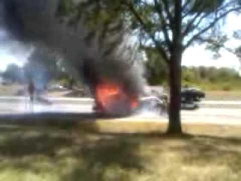 Longview Texas 18 wheeler fire
