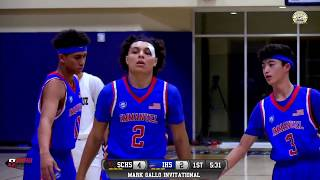 Santa Cruz vs Immanuel High School Boys Basketball LIVE 12/12/18