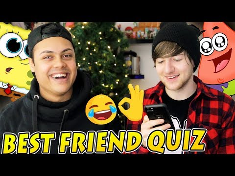 THE BEST FRIEND QUIZ feat. MessYourself
