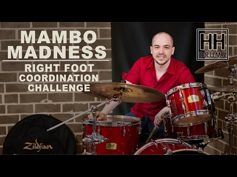 Mambo Madness - Right Foot Coordination Challenge - Better Drums #28