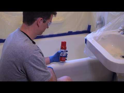Magic Tub & Tile Spray-On Refinishing Kit