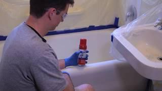 magic tub tile spray on refinishing kit