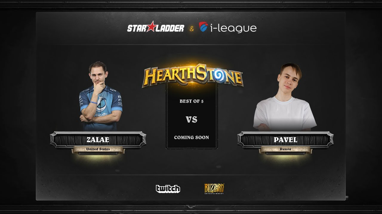 [EN] Zalae vs Pavel | SL i-League Hearthstone StarSeries Season 3 (25.05.2017)