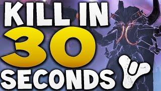 Destiny - HOW TO BEAT SKOLAS IN 30 SECONDS !! (Prison of Elders Level 35)