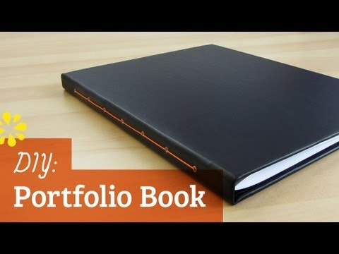 DIY Portfolio Book | Sea Lemon