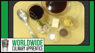 How To Make A Red Wine Sauce - How To Make A Wine Sauce - Mustard Sauce - Cooking Classes