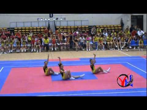 Aerobic   3  Ha Noi   Tu chon 3 nguoi Cap 1 4 5   HKPD KVII 2012