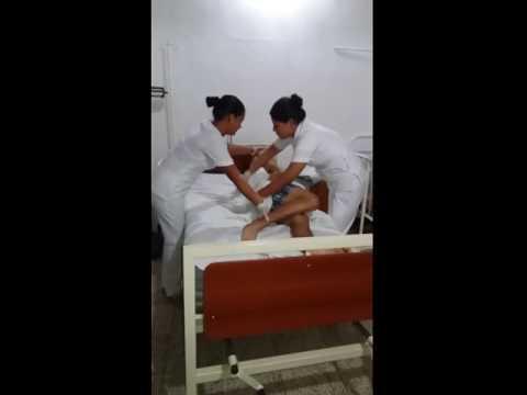 baño de paciente en cama - youtube - Bano General Del Paciente En Cama