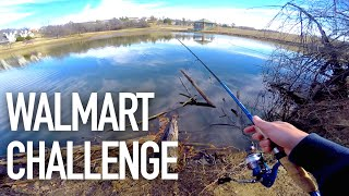 One of Jon B.'s most viewed videos: $50 Walmart Bass Fishing Challenge — ft.  Andrew Flair, APbassin