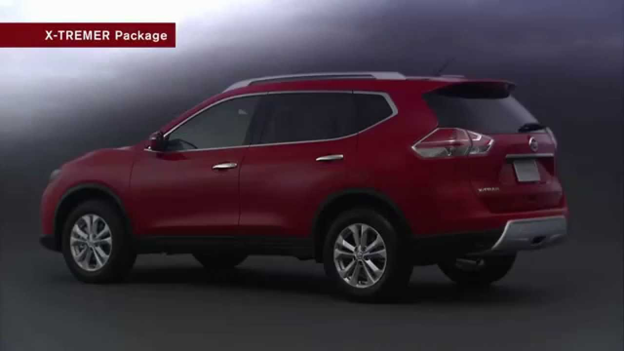 all new nissan x trail 2014 optional parts accessories youtube. Black Bedroom Furniture Sets. Home Design Ideas