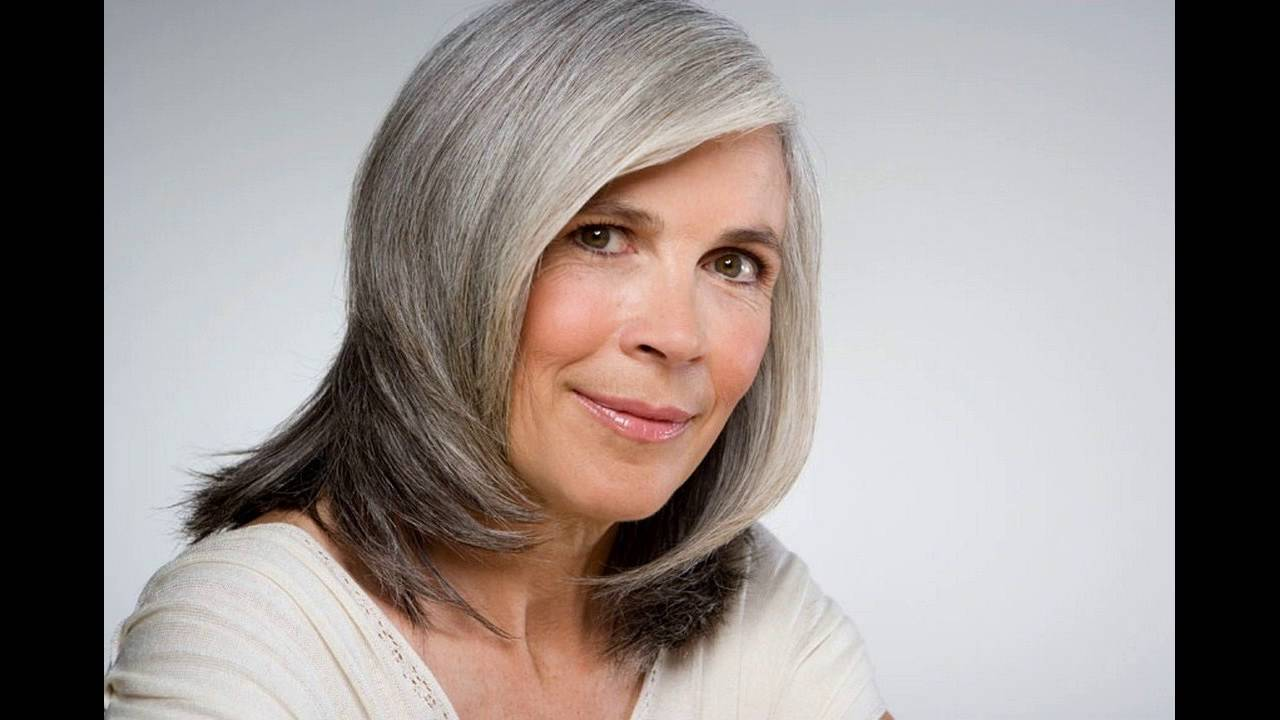 Platinum And Silver Hair Color Ideas For Gray Hair - YouTube
