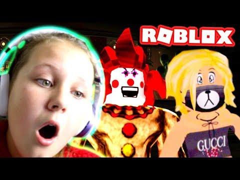 HIDING FROM CREEPY CLOWN AT 3AM AGAIN!! OMG!! Roblox Clown Game Part 2 - Ruby Rube
