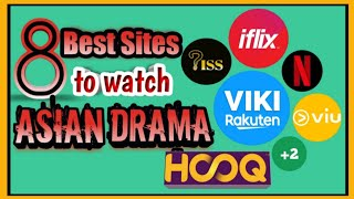 FREE Best Sites/ Apps to watch Kdrama/ Asian Drama with subtitles!