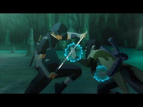 Naruto Ultimate Ninja Storm 3 Full Burst Anbu Itachi RTN Sasuke vs Sage Orochimaru Boss Battle |