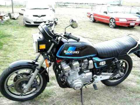 suzuki gsx 1100 e 1981 - youtube