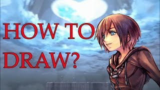 How to draw Xion (From Kingdom Hearts)