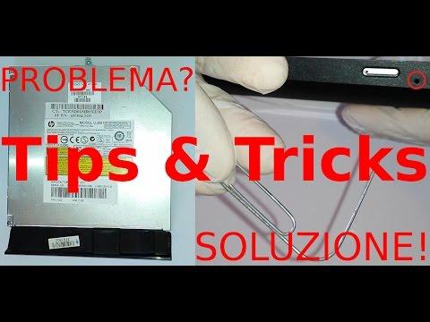 Estrarre disco bloccato dentro dvd che non si apre | Tips & Tricks