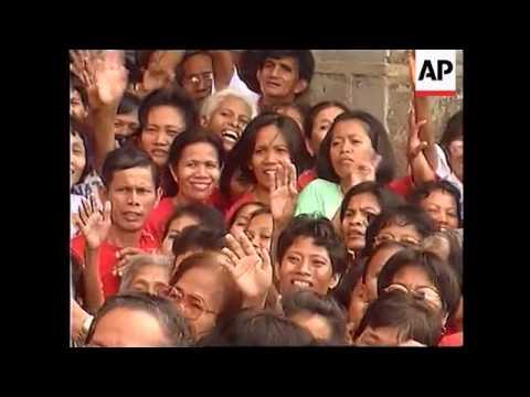 PHILIPPINES: IMELDA MARCOS 70TH BIRTHDAY CELEBRATIONS
