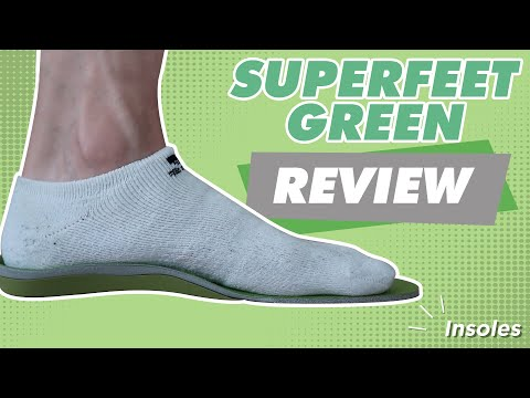 Superfeet Green Best Insoles for Plantar Fasciitis (2020)