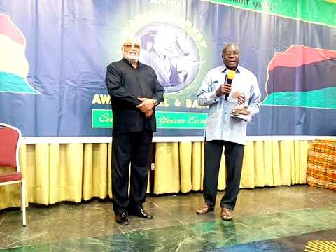 President Jerry John Rawlings award acceptance @Marcus Garvey Awards