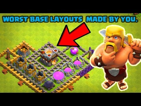 5 mistakes you do in making your coc layout.in clash of clans(in hindi)