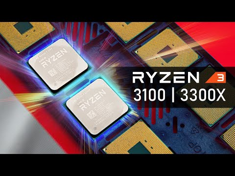 The BEST Budget CPUs Yet!  Ryzen 3 3300X & 3100 Benchmarks & Performance