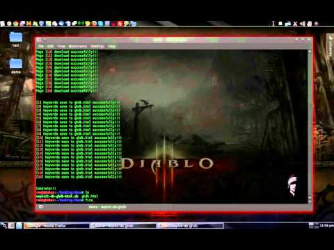 How to download google hacking keywords from exploit-db