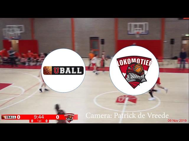 Uball vs Lokomotief Heren 1