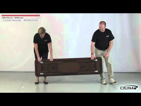 6' Laminate Training Tables