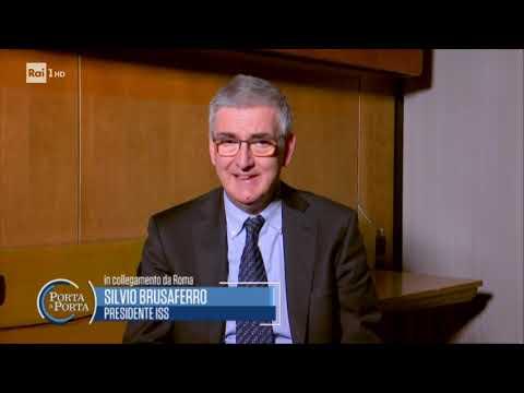 Silvio Brusaferro sui decessi da Coronavirus - Porta a porta 18/03/2020