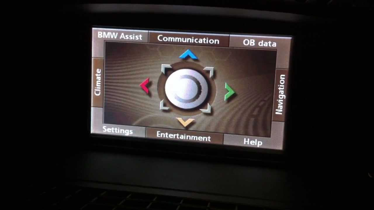 bmw 730li original screen update gps navigation dvd tv. Black Bedroom Furniture Sets. Home Design Ideas