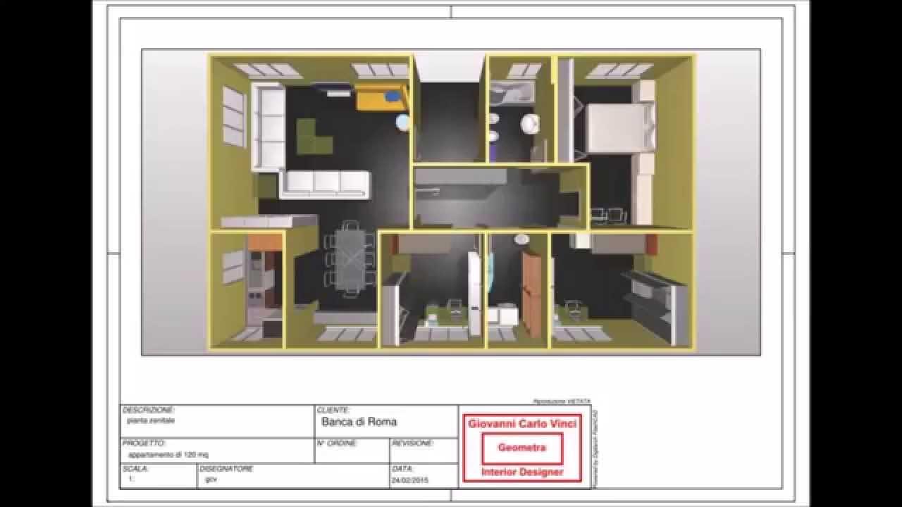 Conosciuto Ristrutturazione e arredamento di un appartamento di 120 mq - YouTube YR45