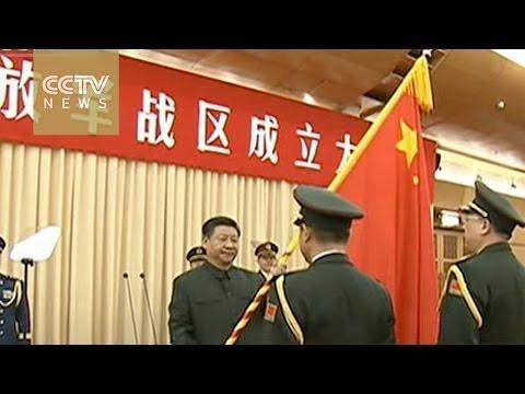 China's PLA establishes five new battle zones