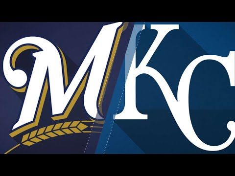 Cain leads Brewers in return to Kansas City: 4/24/18