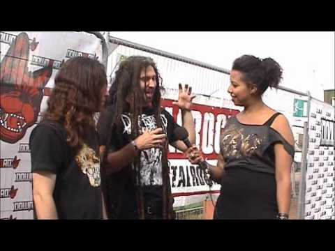 Shadowsfall Interview At Download Festival 2012 With Sophie K (TotalRock)