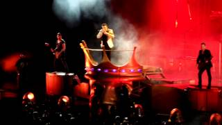 Robbie Williams - Gospel II. part live in Zagreb 2013