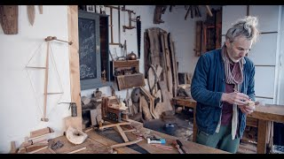 A Portrait Of A Woodcarver   Martin Sommerville
