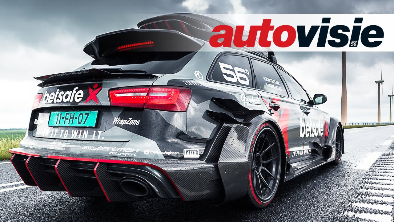 1000hp Audi Rs6 Dtm Ex Jon Olsson Activates Scooter