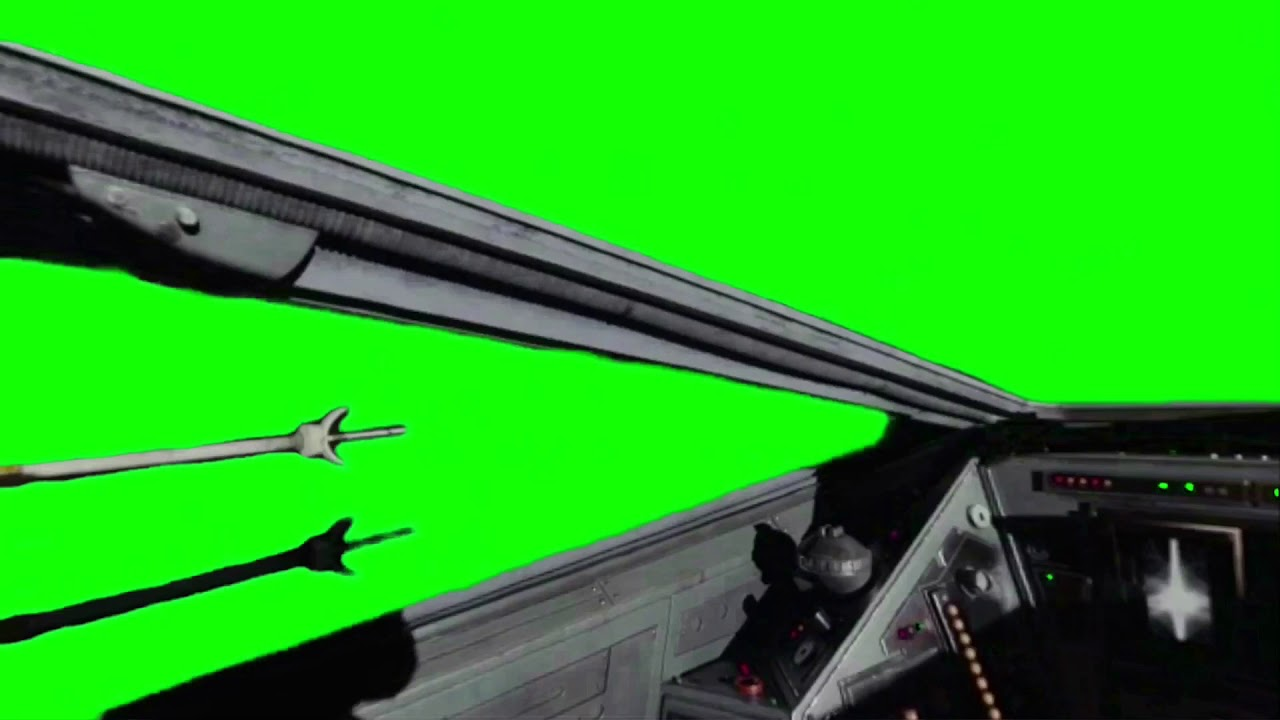Green Screen Star Wars X Wing Cockpit Side View Youtube