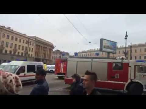 Санкт-Петербург. Взрывы в метро