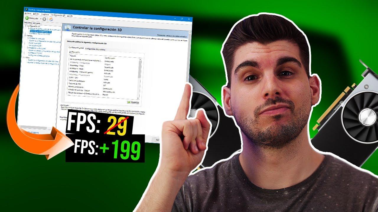 Como optimizar tu tarjeta gráfica Nvidia para AUMENTAR FPS
