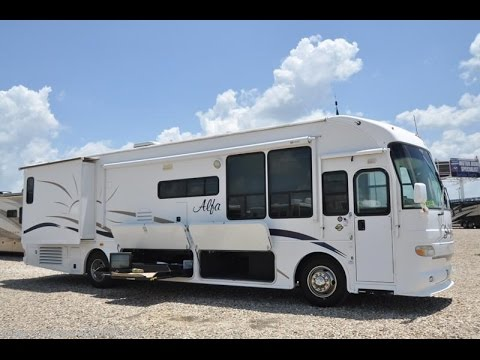 2004 Alfa See Ya Gold Rv Start Up Quick Review 1080p