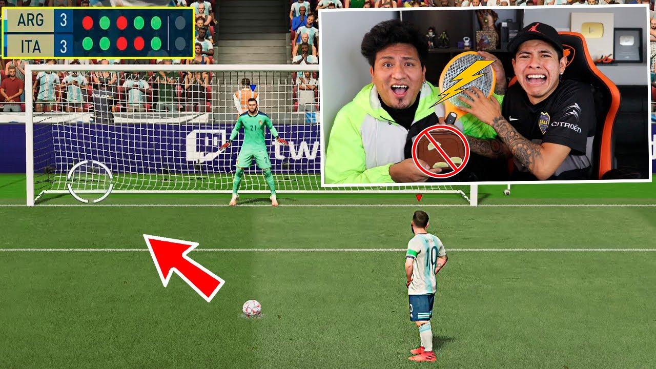 ¡PENALTIS PELIGROSOS! en FIFA21 😱 *He llorado de DOLOR*