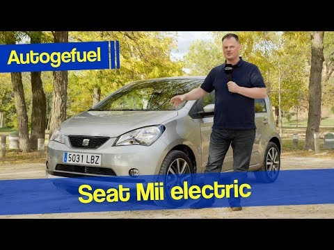 2020 Seat Mii EV REVIEW - electric only! - Autogefuel