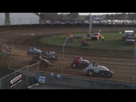 Sprint Car Heat 1  Kokomo Speedway 4/6/19