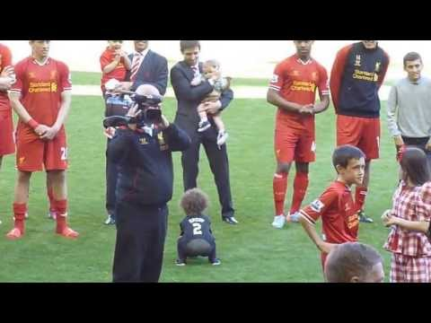 Jamie Carragher's Last Game For Liverpool FC