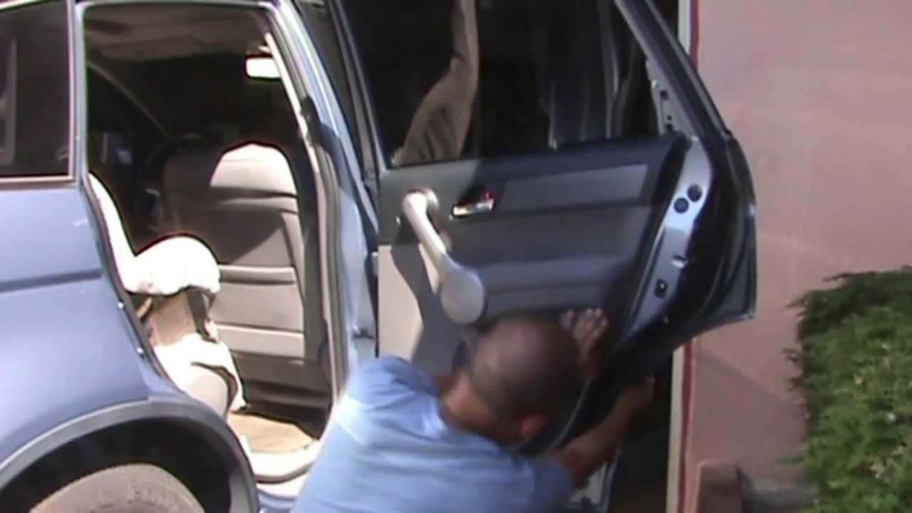 Honda CRV 2007 Rear Door Panel Removal - YouTube