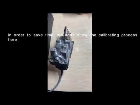 Repeat Hella Turbo Actuator Gearbox Repairing by Kremer sino